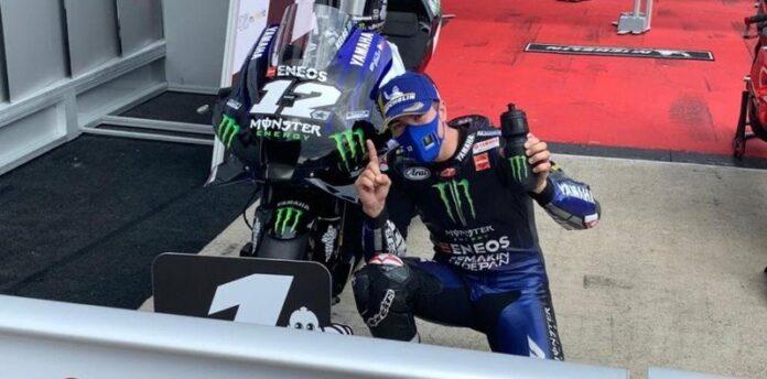 El español Maverick Viñales con Yamaha se quedó con la pole.