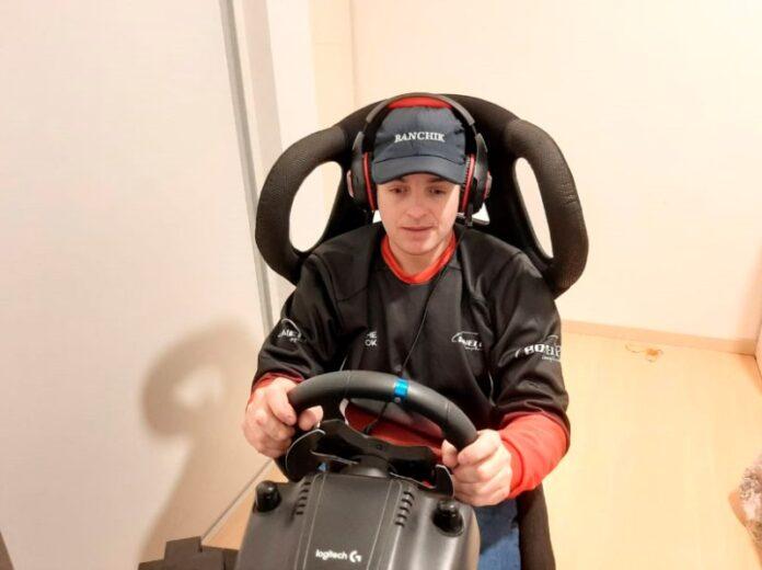 Nicolás Bonelli estará en la última carrera virtual del Turismo Carretera a correrse hoy.