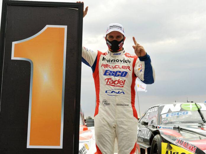 Mariano Werner fue el dueño de las dos clasificaciones corridas ayer en San Nicolás.